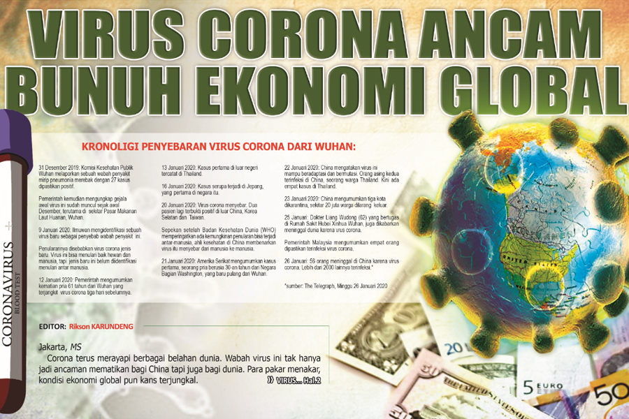 Virus Corona Ancam Bunuh Ekonomi Global Skh Media Sulut