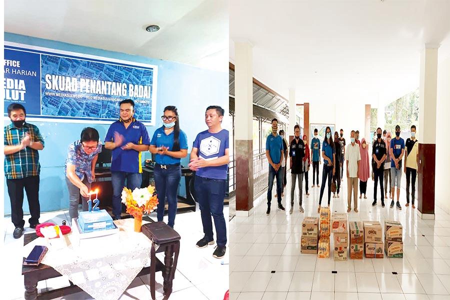 Hut Ke 12 Media Sulut Diberkati Untuk Menjadi Berkat Skh Media Sulut
