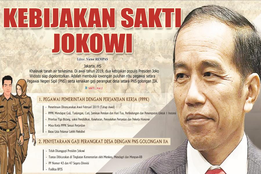 SAH!  Perpres Gaji dan Tunjangan PPPK Resmi Di Teken Jokowi, Semua Guru Terima Gaji dan Tunjangan Setara dengan PNS