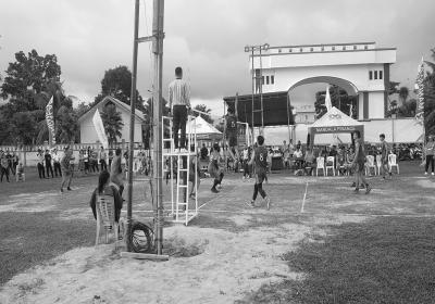 Volley Ball JS Cup Hentak Mitra